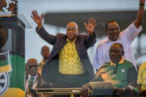 Corruption allegations have tarnished President Jacob Zuma's image, with the beleaguered leader facing growing pressure to resign