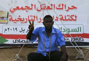 Darfuris are among the keenest of Sudan's protesters to see a full hand over of power by a ruling military council to a civilian government.  By ASHRAF SHAZLY (AFP)