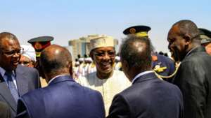 Deby grabbed power in Chad in 1990.  By Ebrahim Hamid (AFP/File)