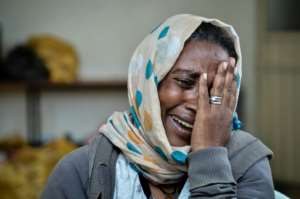 Desta Hailu says people were shouting 'Beat her, kill her'.  By  (AFP)