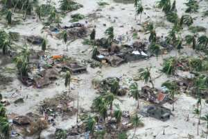 Destruction: The cyclone claimed nearly four dozen lives and affected a quarter of a million people.  By SAVIANO ABREU (OCHA/AFP/File)