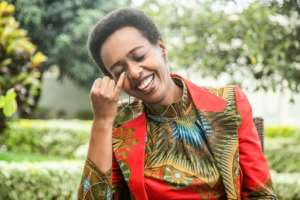 Diane Rwigara says she hopes to defend herself against what she says are trumped-up charges but adds, 'I hope I will not go back to prison but if I go back, I go back'.  By Cyril NDEGEYA (AFP/File)