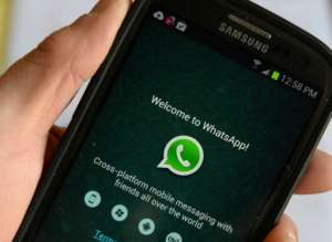 Digital technology, such as the mobile messenging service WhatsApp, is being used for recruiting..  By STAN HONDA (AFP/File)