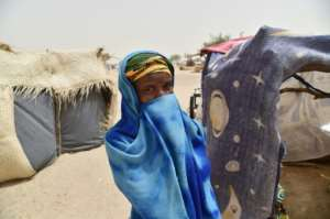 Displaced families in the Diffa region have fled from Boko Haram attacks.  By ISSOUF SANOGO (AFP/File)