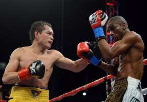 Donaire improved to 29-1 with 18 knockouts, winning his 28th straight fight.  By Harry How (AFP/Getty Images)