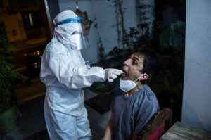 Doctors say testing is vital if they are to understand the true extent of infections.  By ERNESTO BENAVIDES (AFP)