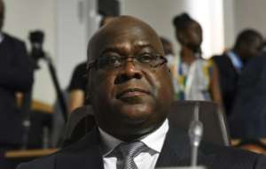 DR Congo President Felix Tshisekedi pledged to allocate 40 percent of the country's annual budget to primary education.  By ISSOUF SANOGO (AFP/File)
