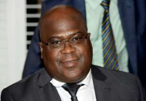 DR Congo's new president Felix Tshisekedi took over the country's largest opposition party just two years ago.  By THIERRY CHARLIER (AFP/File)