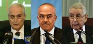 Dubbed the 3B due to their surnames, protestors are calling for these veteran politicians to follow in Bouteflika's footsteps and quit. By Farouk Batiche, RYAD KRAMDI (AFP/File)