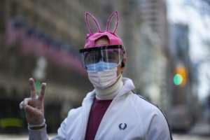 Easter celebrations around the world were muted with billions confined to their homes.  By Kena Betancur (AFP)