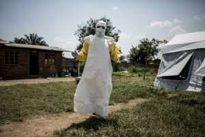 Ebola is fought by time-honoured techniques of isolation and barrier controls.  By John WESSELS (AFP)