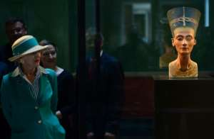 Egyptian authorities have sought the return of the bust of queen Nefertiti for decades.  By JOHN MACDOUGALL (AFP/File)