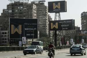 Egypt's Watch iT will have to compete with streaming giants like the Netflix from the US and the UAE's Wavo. By Khaled DESOUKI (AFP)