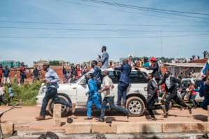 Election rallies were restricted to a quick address from the roof of a car before they were banned altogether, supposedly due to coronavirus.  By Sumy Sadurni (AFP/File)