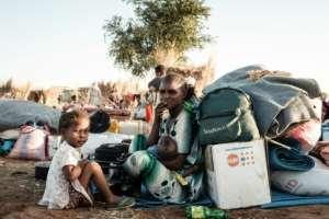 Ethiopian refugees arrive at Sudan's Um Raquba camp with few if any belongings but many say schooling for their children is their top priority.  By Yasuyoshi CHIBA (AFP)
