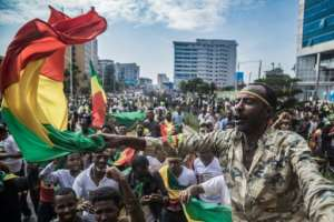 Ethiopians have celebrated some of Abiy's reforms including allowing the return of dissidents.  By YONAS TADESSE (AFP)