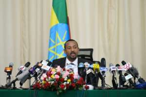 Ethiopia's Prime minister Abiy Ahmed Abiy, who took office in April, has prioritised reconciliation between critics and the ruling Ethiopian People's Revolutionary Democratic Front (EPRDF), which has held power unopposed for 27 years.  By Michael Tewelde (AFP)