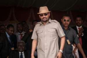 Ethiopia's Prime Minister Abiy Ahmed has called for the pursuit of multiparty democracy, respect for human rights and the rule of law in the face of the longtime control of parliament by a single coalition.  By Yasuyoshi CHIBA (AFP/File)