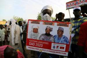 Experts see the vote as a key step towards leading the West African state out of its spiral of violence.  By Souleymane ag anara (AFP)