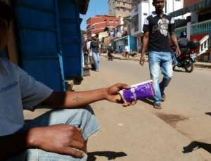Fake drugs being sold in the Madagascar capital Antananarivo