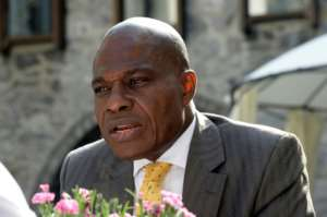 Fayulu was backed by a group of opposition leaders before going on the campaign trail, where he took a rubber bullet to the head in one demonstration..  By THIERRY CHARLIER (AFP/File)