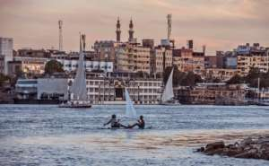 Fears about the Nile echo those that millions worldwide share about other over-taxed and polluted rivers -- an issue to be marked on World Water Day on March 22.  By KHALED DESOUKI (AFP/File)