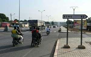Ferkessedougou is the capital of the Tchologo region.  By Issouf SANOGO (AFP)
