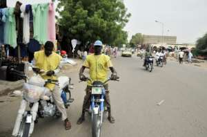 Few Chadians have steady jobs.  By ISSOUF SANOGO (AFP)