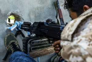 Fighters loyal to Libya's unity government have halted Hafat's offensive in the southern suburbs of Tripoli although his forces still repeatedly announce advances. By Mahmud TURKIA (AFP/File)