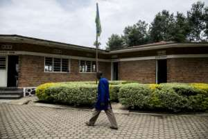 Focus Twiringiyimana, 47, a former Democratic Liberation Forces of Rwanda combatant, heads for Mutobo's vocational training centre where participants in the scheme spend three months before they can return home to families left decades ago. By JACQUES NKINZINGABO (AFP/File)