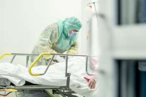 For some the lack of protective equipment has left them exposed.  By Roni Lehti (Lehtikuva/AFP)