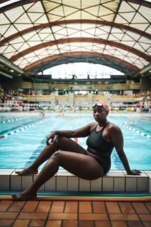 For swimmer Clare Byarugaba, the joy of competing for the first time in the Gay Games could come at a price.  By Lucas Barioulet (AFP)