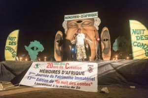 For two nights in mid-August more than 30 communities from across Benin held the event organised by a Franco-Beninese association, Memories of Africa, that is now two decades old..  By YANICK FOLLY (AFP)