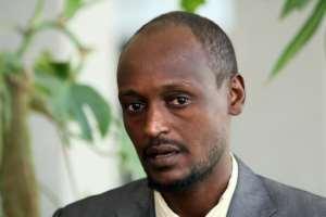 Former Chadian rebel leader Yaya Dillo Djerou.  By THOMAS COEX (POOL/AFP/File)