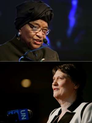 Former Liberian president Ellen Johnson Sirleaf and former New Zealand prime minister Helen Clark said the panel they head looking into the WHO-led response to Covid-19 will not pull its punches. By SIA KAMBOU, EDUARDO MUNOZ ALVAREZ (AFP/File)