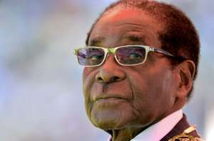 Former Zimbabwean president Robert Mugabe  was forced to quit when the military briefly took power in November.  By ALEXANDER JOE (AFP/File)