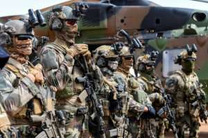 France has a strong military presence in Mali, where jihadist violence has emerged in recent years.  By Alain JOCARD (AFP)
