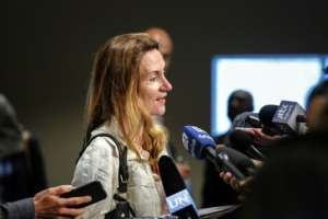 France's deputy UN ambassador Anne Gueguen, pictured August 2017, says that the progress made in Mali