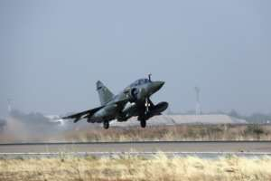 French Mirage 2000 warplanes struck the rebels several times last week.  By Ludovic MARIN (AFP/File)