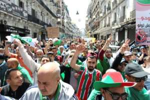 Friday's protest is the tenth weekly mass rally since Bouteflika announced in February that he planned to stand for a fifth term in office. By - (AFP)