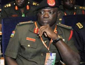 Gambia former General Masanneh Kinteh.  By Sia Kambou (AFP/File)