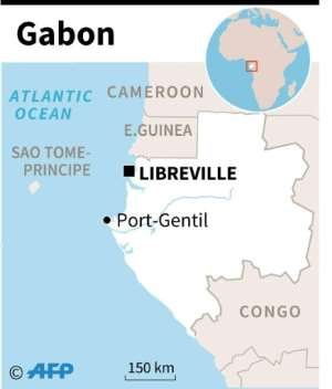 Country factfile on Gabon with chronology of leadership changes..  By Jonathan WALTER (AFP)