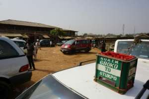 Gboko bus station in Benue State, where seven men were burned alive last month because they looked like ethnic Fulanis. A bitter conflict over land between Fulani herders and sedentary farmers has fuelled mob justice in the town.  By PIUS UTOMI EKPEI (AFP)