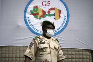 General Oumarou Namata Gazama, head of the G5 Sahel force. The five-nation scheme has encountered many problems, from funding and equipment to training and coordination.  By MICHELE CATTANI (AFP/File)