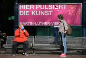 Germany started lifting restrictions last week, though some people are growing impatient with lockdown orders.  By Ina FASSBENDER (AFP)