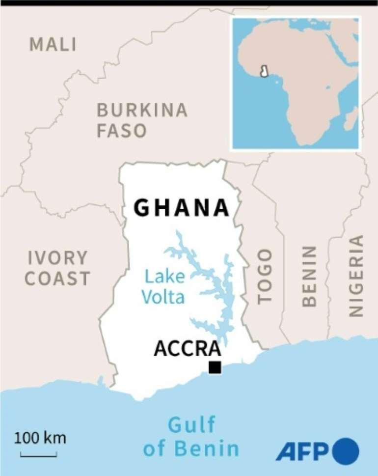 Ghana.  By Sophie RAMIS (AFP)