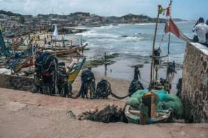 Ghana is looking to use the new connections it is forging to convince the descendants of slaves to resettle for good and help the country develop.  By NATALIJA GORMALOVA (AFP)
