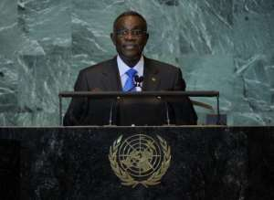 Ghana President John Atta Mills, pictured in 2011.  By Stan Honda (AFP/File)