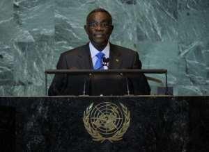 Ghana President John Atta Mills, pictured in 2011.  By Stan Honda (AFP/File)