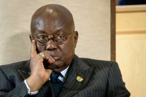 Ghana's President Nana Akufo-Addo has said the country needs to prevent kidnapping becoming commonplace in the country.  By Fabrice COFFRINI (AFP)